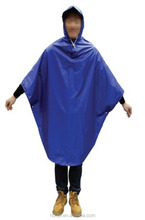 dark blue rain poncho ,rain coat for bicycle,motorcycle
