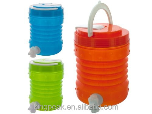1.5L Collapsible Drink Container/collapsible Water Container/Folding camping outdoor water bottle