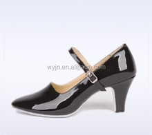 latest style Medim Heel lady ballroom dance shoes