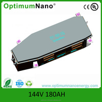 IP55 lifepo4 Electric Vehicles battery 144V 180Ah with smart BMS
