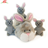 Hide and Seek Slipper Nest Squeaky Plush Dog Toy