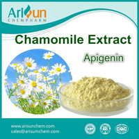 Factory Supply High Quality 1.2%-98% Chamomile Apigenin Extract Powder