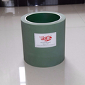 "High quality 10"" Green rice mill rubber roller with aluminum drum for rice mill machine"