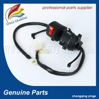 Motorcycle parts china Black plastic motorcycle ignition switch