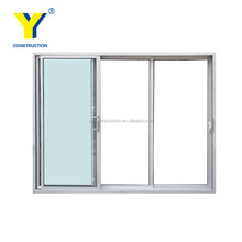 YY windows and doors AS2047 aluminum modern exterior doors used/ interior doors for small spaces