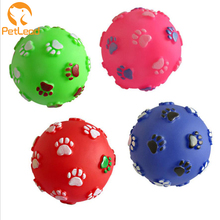 Vinyl squeaky ball rubber dog toys squeaky dog toy manufactures pet ball dog chew toy