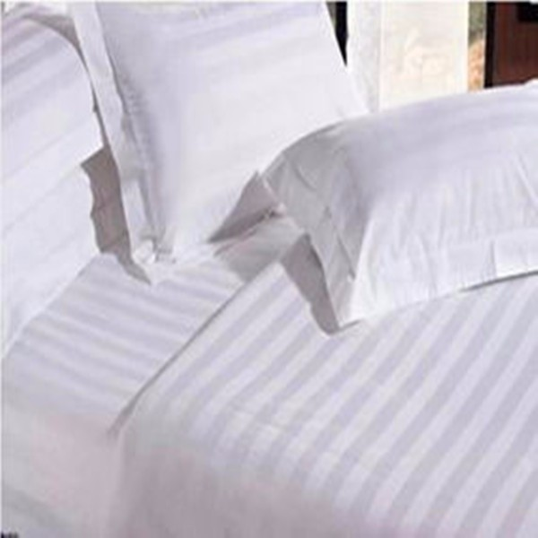 Factory wholesale white cotton bed in a bag sets