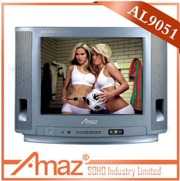 21 inch CRT TV with good quantity /portugal hd color tv set