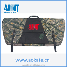 soft camoflage hunting archery bow case
