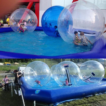 HOT sale giant PVC TPU human water walking rolling inflatable hamster ball for kids