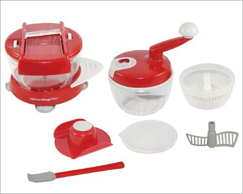 Kitchen king pro vegetable slicer manual food processor