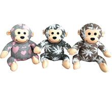 Crochet Animal For Sale New Knitting Monkey Toy Soft Knitted Animal Toy