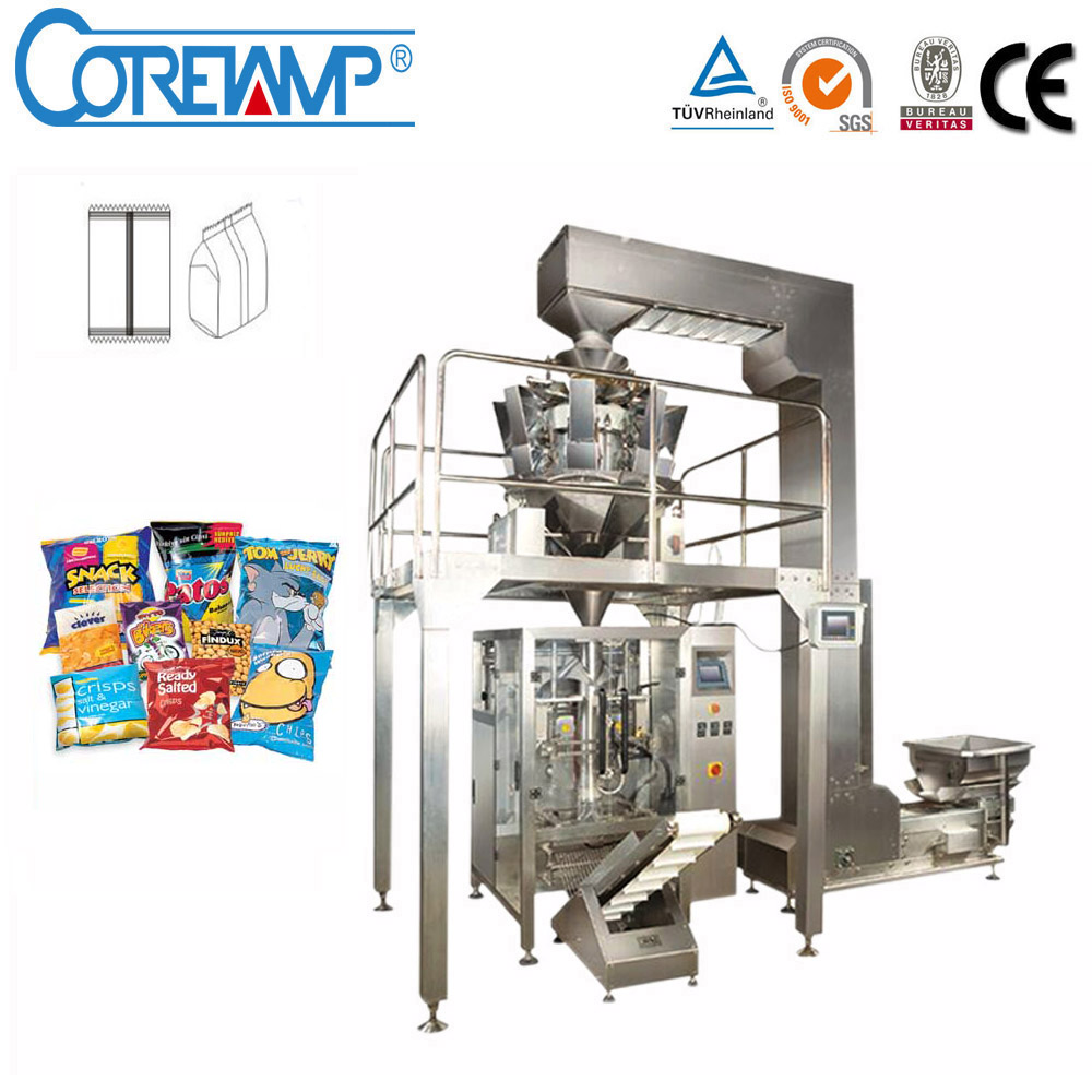 Automatic Sachet Packaging Machine for Snacks/Nuts/Roasted Peanuts/Pasta Products