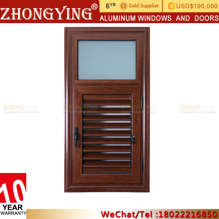 China Plantation Shutters Aluminum Window Louver Prices , House Residential Mechanism Sand Trap Window Fixed Aluminum Louvers