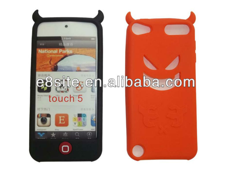 Devil Silicone Case For Apple iPod Touch 5