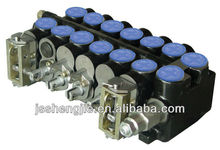 Vermicular iron 6 levels Hydrualic directional control valve with 63 Lpm for fork lift machines