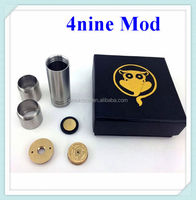 2014 Latest Changeable Style Full Brass 4Nine Mod With Magnet Switch