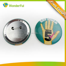 2014Promotional Product Custom Cheap Lovely Metal Button Badge
