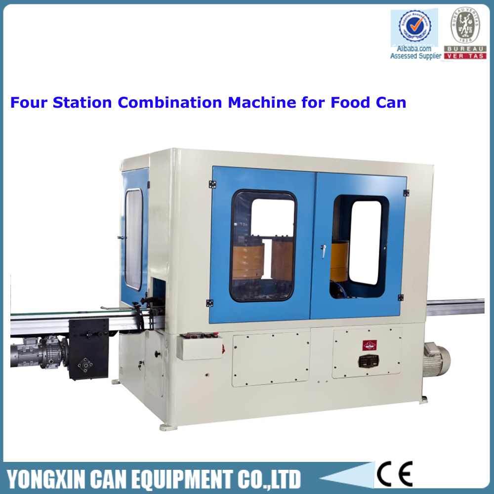 Four Station Combination Machine for Complete Food/Beverage Tin Can Making Porduction Line