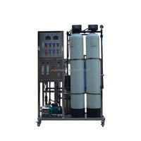 comercial reverse osmosis mineral mobile water treatment plant/water system price