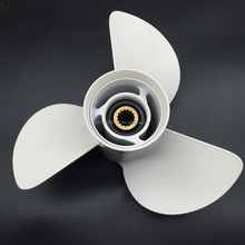 Propeller 60-130HP 13 X 19K Universal Outboard Marine 3-Blade Boat Propeller For Yamah