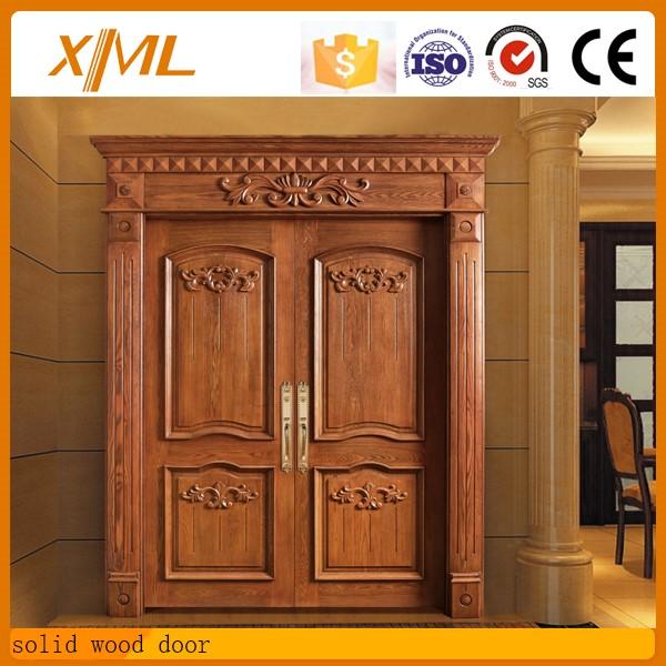 High quality teak solid wood main door designs buy solid for Quality door design