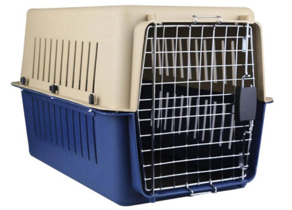 Wholesale plastic handle dog flight carrier dogs cages