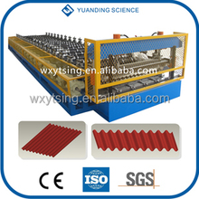 YTSING-YD-0923 Passed CE and ISO Authentication Glazed Tile Machine Metal Corrugated Roller