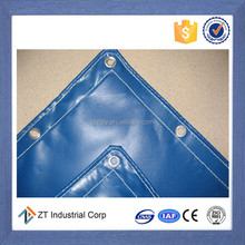 China low price high quality Fireproof waterproof polyester PVC PE vinyl fabric tarp