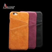 New Fashional Phone Accessories Leather Mobile Phone Case For iphone 6