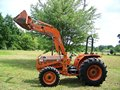 KUBOTA L-4150 4X4 COMPACT DIESEL TRACTOR LOADER 50HP