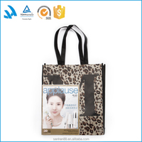 China manufactures Christmas felt fashion extra large shopping bag wholesale