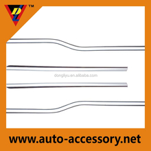 Chrome weather strips for car window