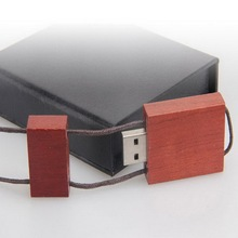 Affordable Rectangle Recycled wooden Jump USB Thumber Drives