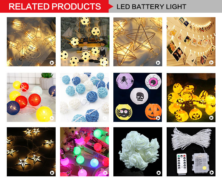 new design cheap price colorful rattan ball string battery powered led christmas/holiday light