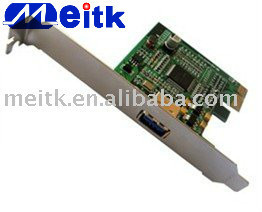 single USB port desktop PCI-e USB3.0 expansion card
