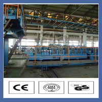High quality automatic polyurethane continuous pu sandwich panel line