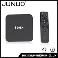 2016 Cheap Android 6.0 TV Box 2G DDR3 16G EMMC Amlogic S905X Quad Core WIFI Penta Core ARM Mali-450 GPU EU/US/UK/AU Plug