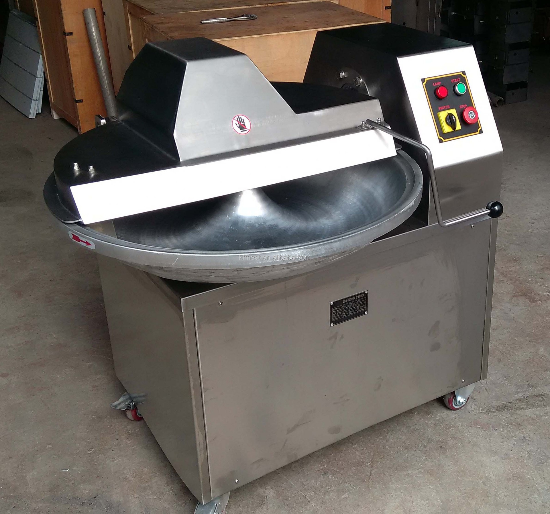 Vegetable Cutting Machine/ Vegetable Bowl Cutter/ Meat Bowl Cutter