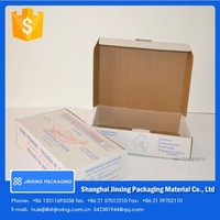 wax coated seafood boxes/ cardboard box for packing
