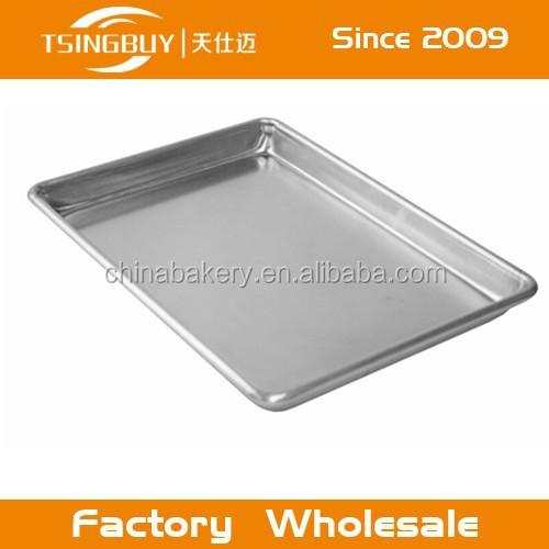 Full size Aluminum Baking Bread Cookie Bun Sheet Pan for bakery