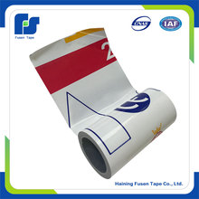 Stretch Plastic Wrap Film printed Ldpe film Of Raw Material On Roll
