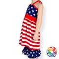 4th July holiday Cheap Boutique Baby Girl Clothing Wholesale Baby Clothes