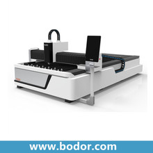 bodor 1000w steel 15mm tube laser cutter with rotary