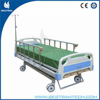 BT-AM003 CE/FDA high quality hospital furniture manual caring bed paitent nursing bed prices