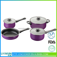 2015 Hot selling 7pc cookware set
