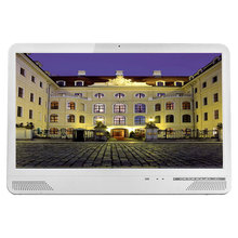 Wall mount touch screen all-in-one computer 21.5 inch Ultra-slim All in One PC