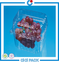 Manufacture Disposable plastic take away fruit grape punnet