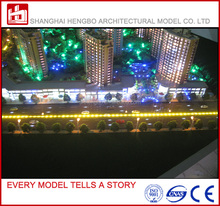 Quality Assurance !!! High Rise commercial Properties scale architectural model for Apartment