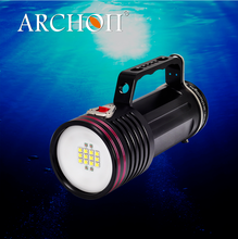 factory supply magnet 7000 lumen diving flashlight kit